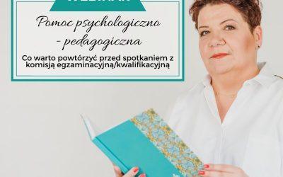 Pomoc psychologiczno-pedagogiczna- co warto powtórzyć?
